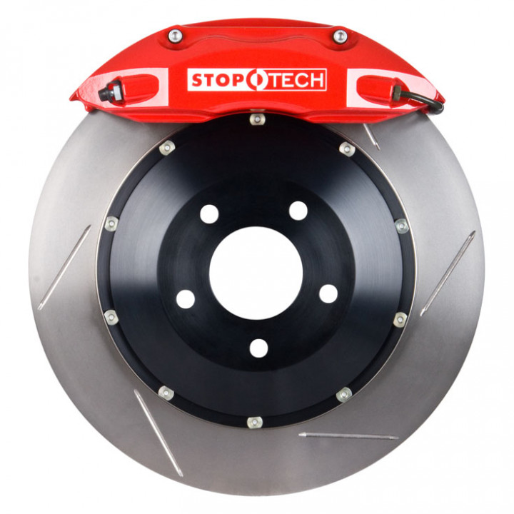 StopTech 83.476.4300.71 - BBK 2pc Rotor, Front
