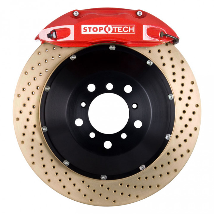 StopTech 83.563.4700.74 - BBK 2pc Rotor, Front