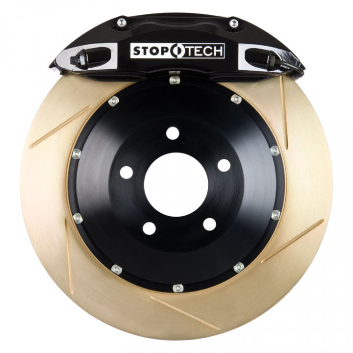 StopTech 83.837.4600.53 - BBK 2pc Rotor, Front