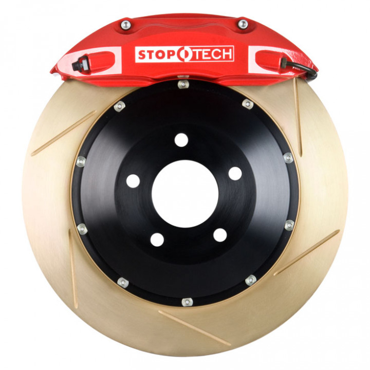 StopTech 83.435.4700.73 - BBK 2pc Rotor, Front