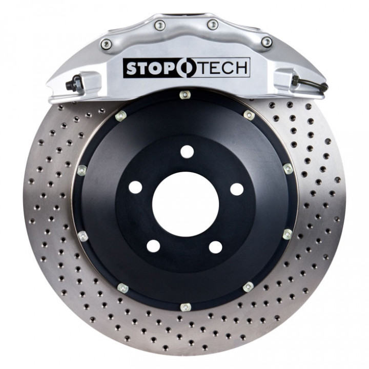 StopTech 83.838.6700.62 - BBK 2pc Rotor, Front