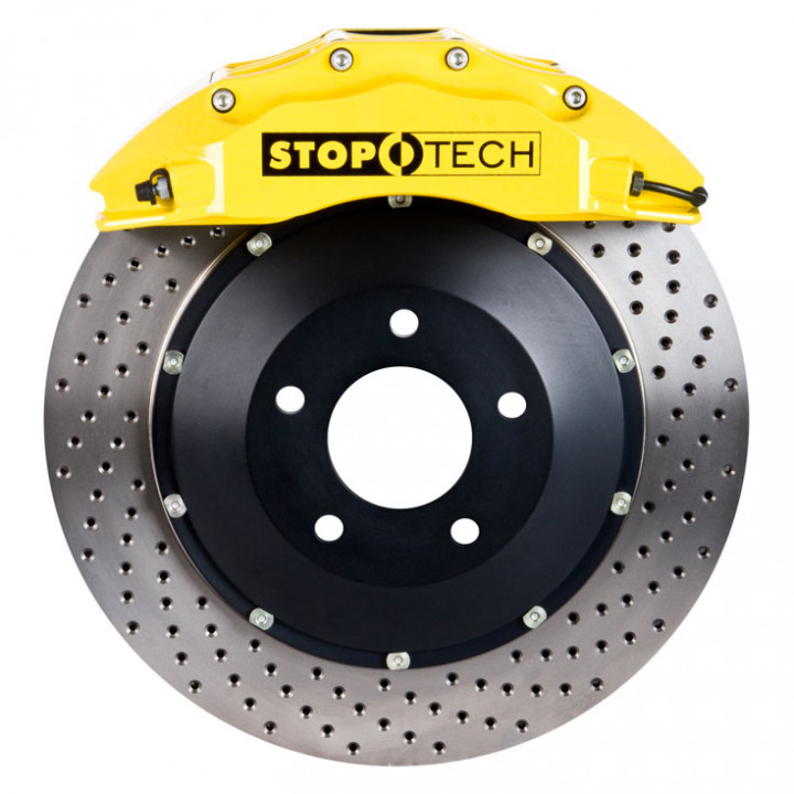 StopTech 83.137.6700.82 - BBK 2pc Rotor, Front