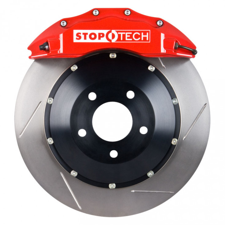 StopTech 83.186.6700.71 - BBK 2pc Rotor, Front