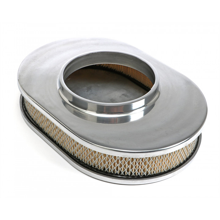 Trans Dapt Oval Aluminum Air Cleaners