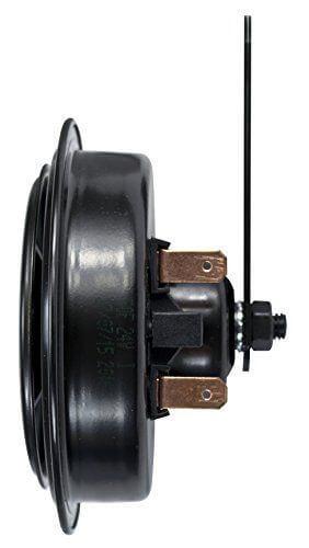 HELLA 002768821 Black 92mm 24V Disc Horn Kit Universal Fit