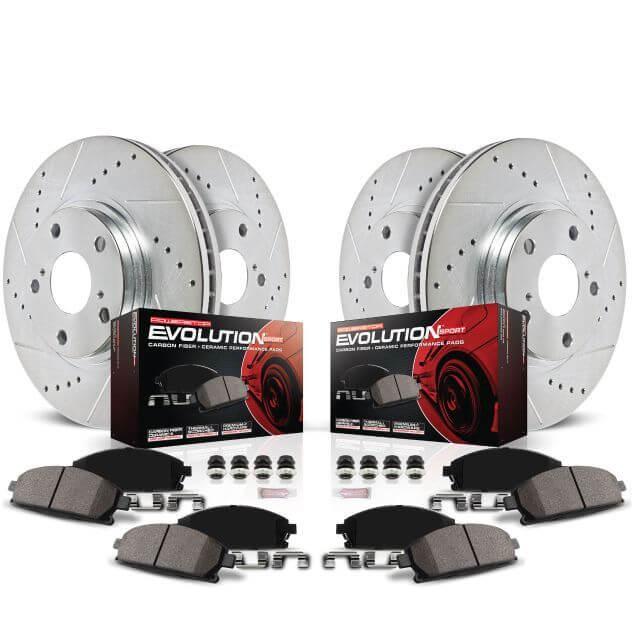 Z23 Evolution Sport Brake Pads Z23-1281 Rear Power Stop
