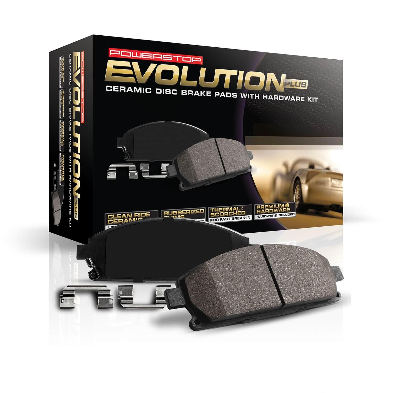 Disc Brake Pad Set-Z17 Evolution Plus Disc Brake Pad Front Power Stop 17-1346