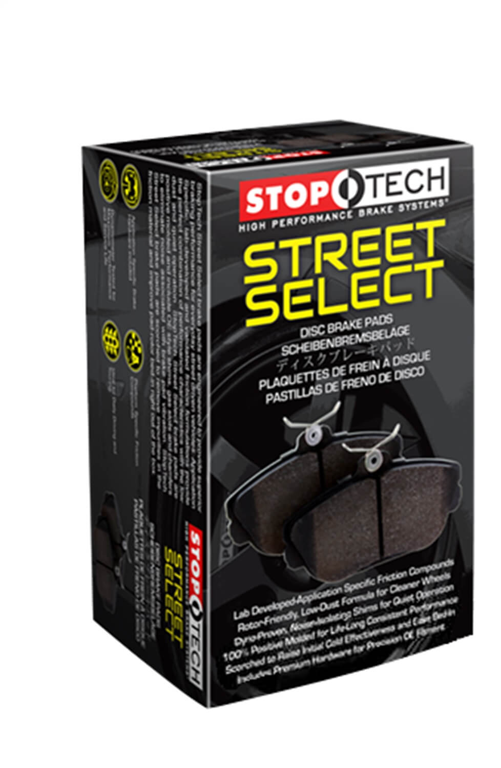StopTech 305.13740 Street Select Brake Pads with Hardware