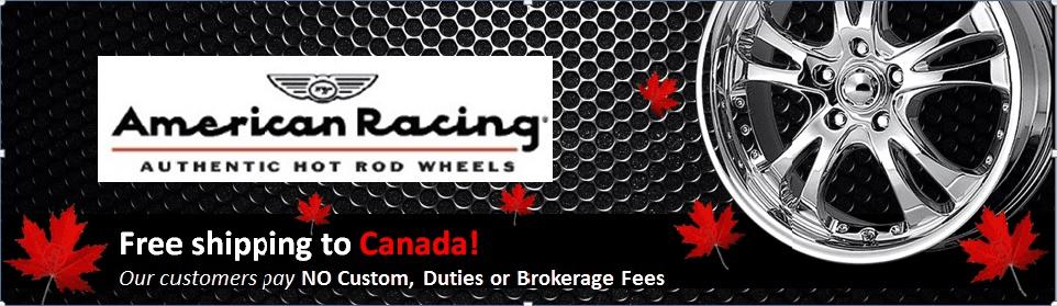 American Racing Brand Banner - CAD