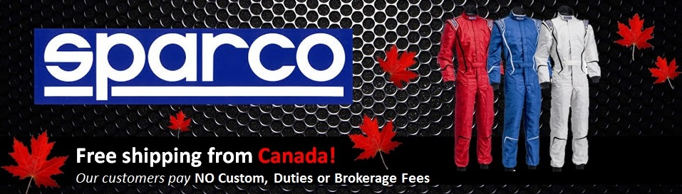 Sparco Brand Banner - CAD