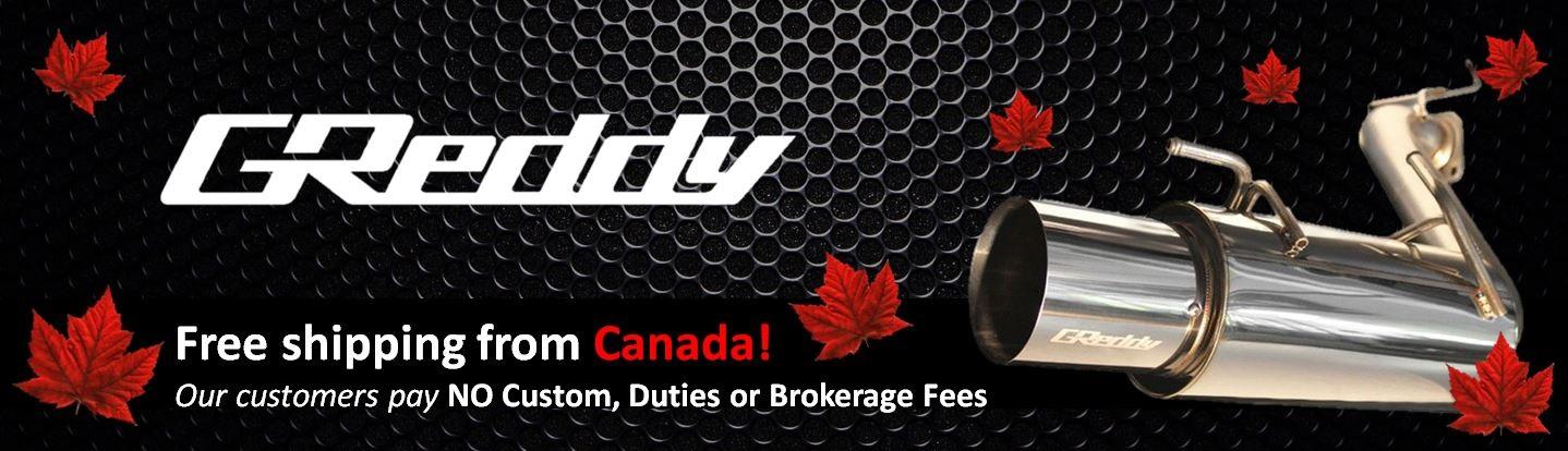 GReddy Brand Banner - CAD