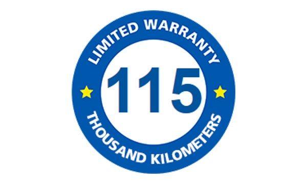 michelin 115km limited warranty tires