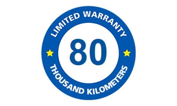 michelin 80km limited warranty tires